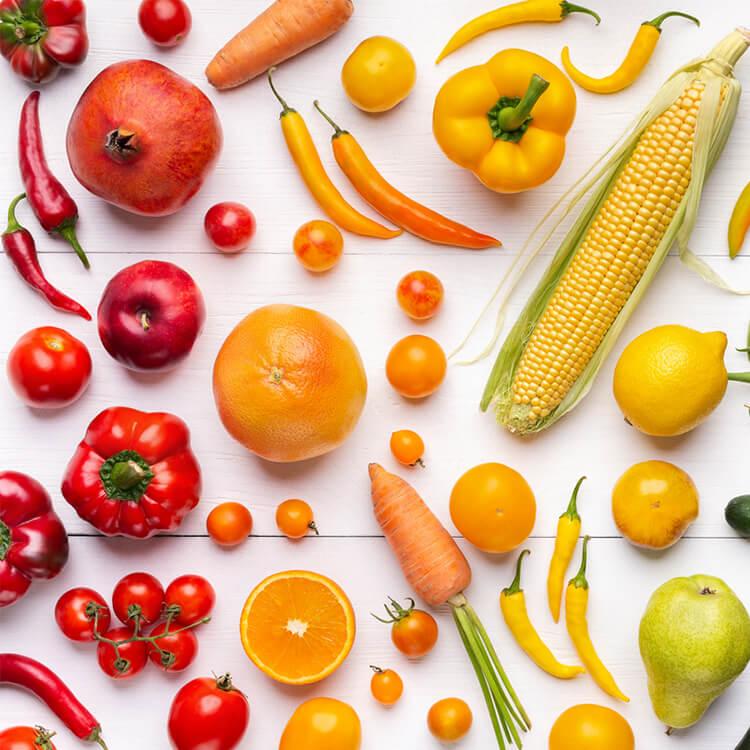 voeding als natuurlijke zonbescherming