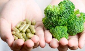 voedingssupplementen versus groenten
