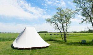 duurzame tent kamperen