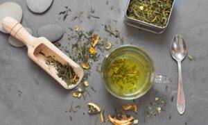 groene thee als zonbescherming
