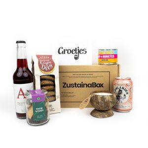 Knusse Borrel KerstBox - Zustainabox