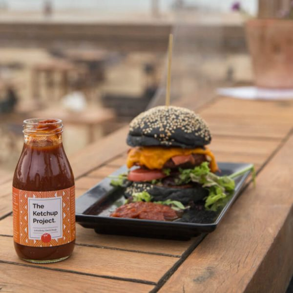 Ketchup hamburger vegan tomaten smokey