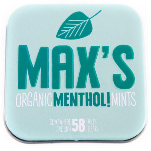 Natuurlijke max mints biologisch pepermuntjes