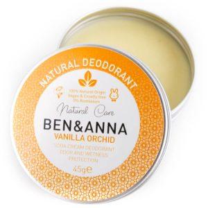 Vegan deodorant blik zerowaste ben&anna