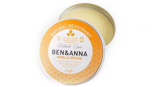 Zero waste vegan deodorant Ben&Anna vanilla