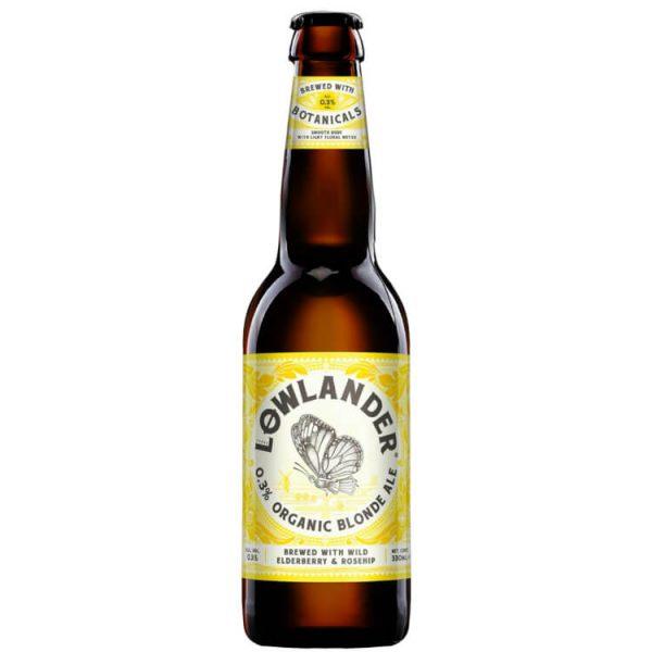 Zomer apero box Lowlander organic blonde bier