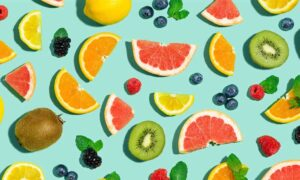 Zomergroenten en -fruit