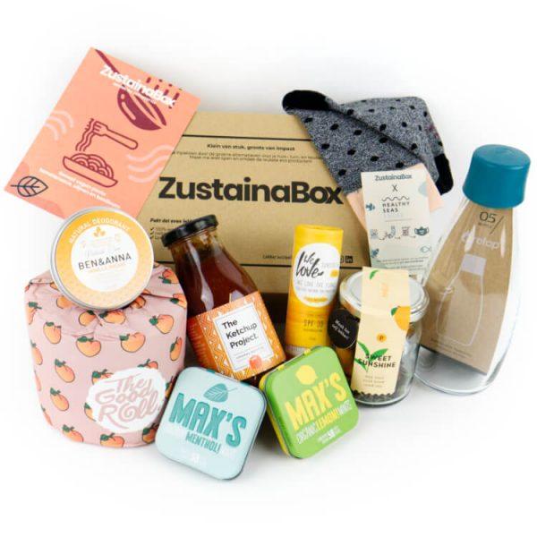 zero waste producten ontdekken ZustainaBox Premium kopen