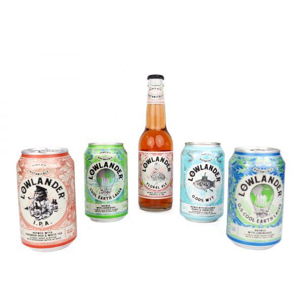 botanisch bier van Lowlander