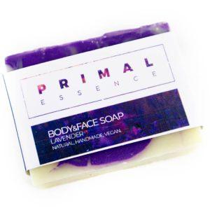 Natuurlijke lavendel zeep bar lichaam gezicht