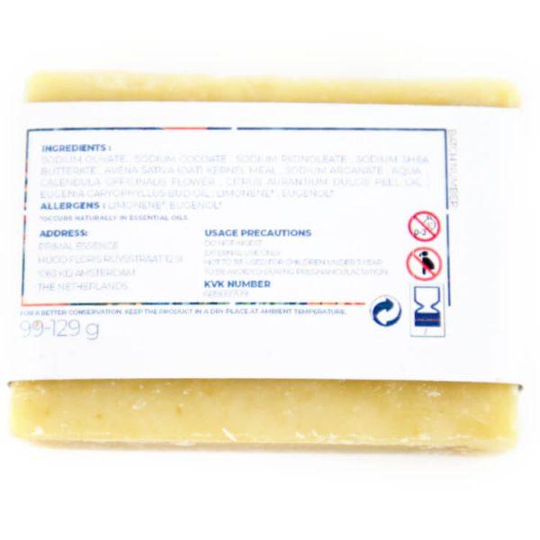 calendula natuurlijke zeep vegan ingredienten