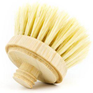 houte afwasborstel vervangbaar duurzaam