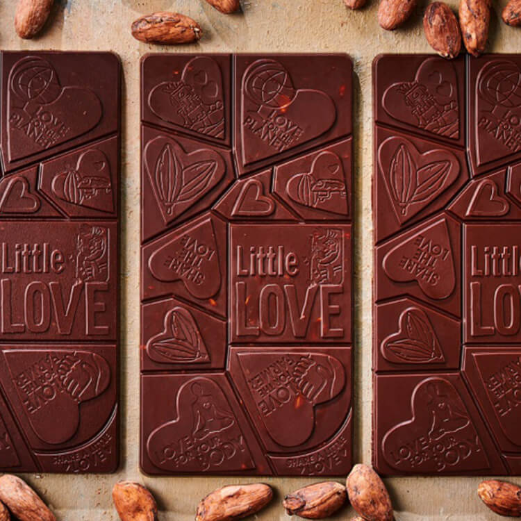 rauwe chocolade Little Love