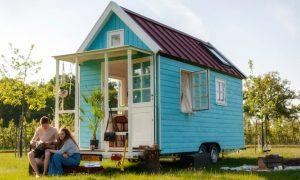tiny house op wielen NL
