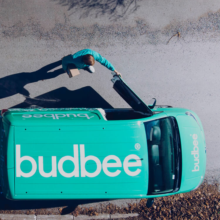 Budbee duurzame bezorgingsdienst