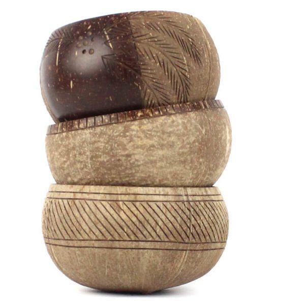 zero-waste coconut bowl duurzaam gered