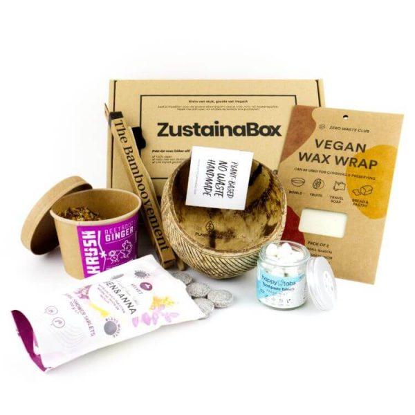 plasticvrije producten ontdekken Heidi's Box