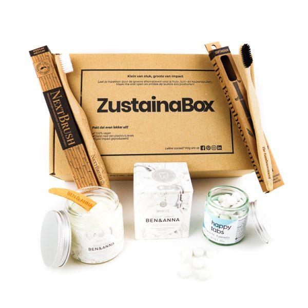 duurzame mondverzorging tandenpoets box