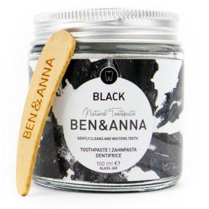 Natuurlijke tandpasta zwart geactiveerde kool