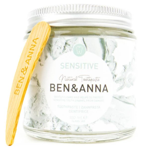 ben&anna duurzame tandpasta voor gevoelige tanden