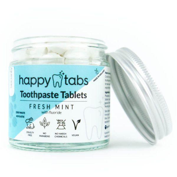duurzaam tandpasta tabletten tandenpoetsen eco