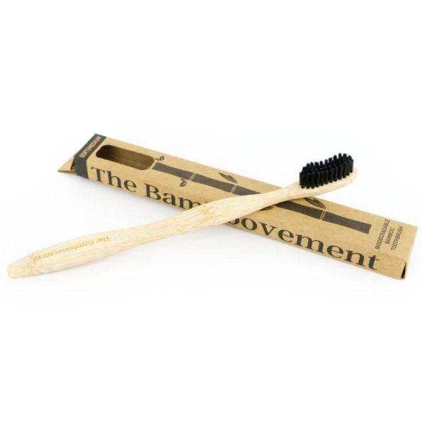 houten tandenborstel tandenpoetsen duurzaam