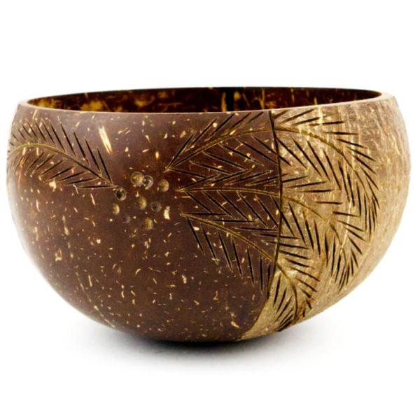 kokosnoot schil met design circulair product