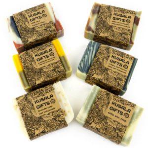kusala zeep verschillende geuren