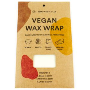plant based wax wraps food