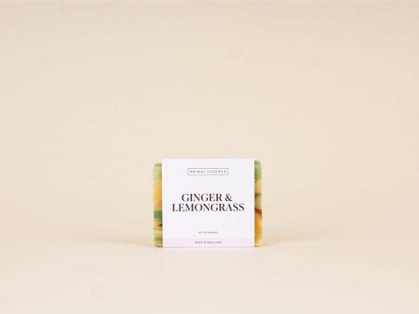 primal essence ginger lemongrass body and face bar