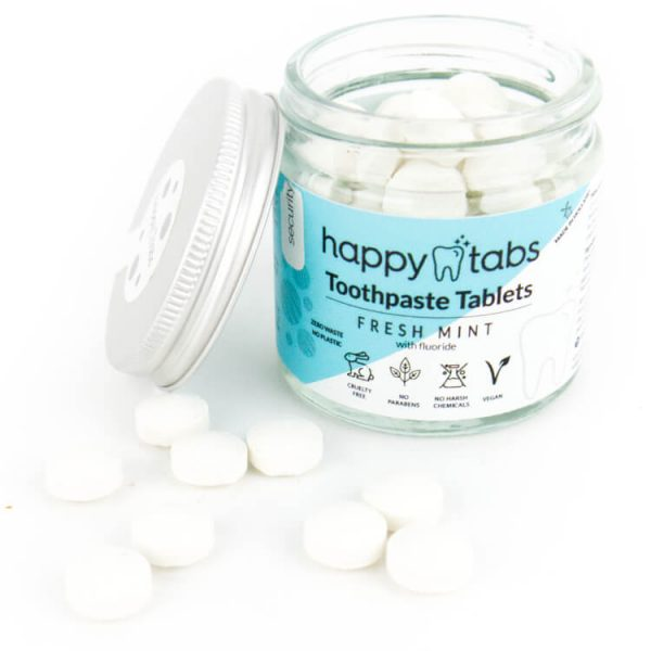 plasticvrije tandpasta tabletten happy tabs duurzaam