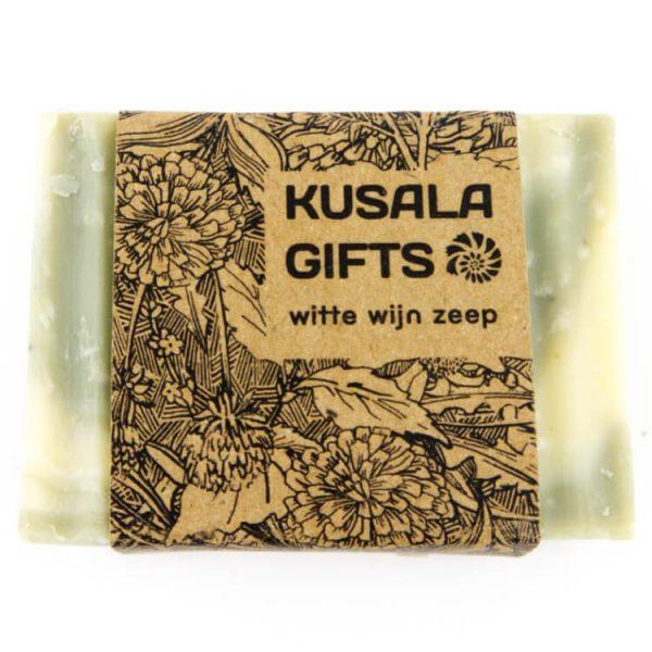 witte wijn zeep kusala duurzaam gemaakt
