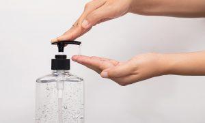 zeep plastic fles