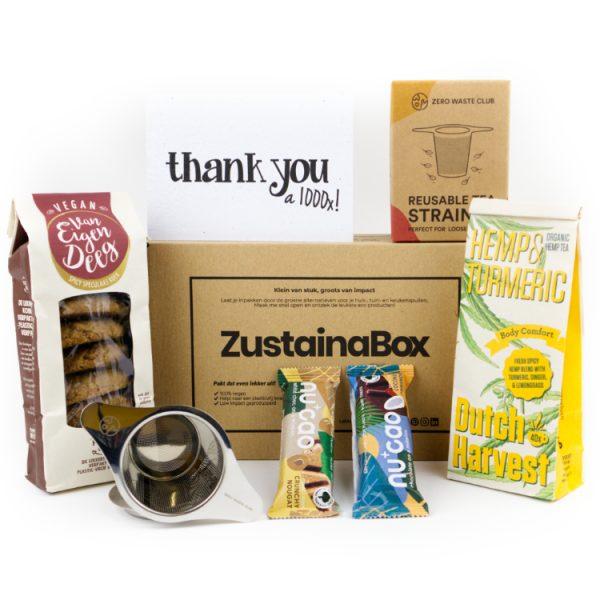 Thuiswerk cadeau box voor personeel