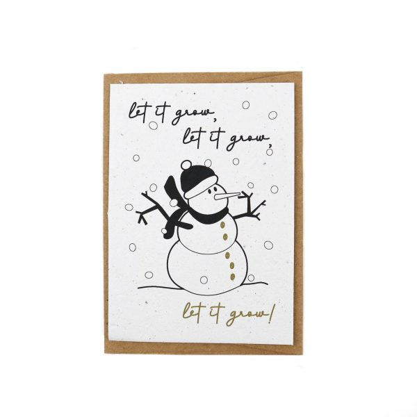 Duurzame-kerstkaart=let-ot-grow-sneeuwpop