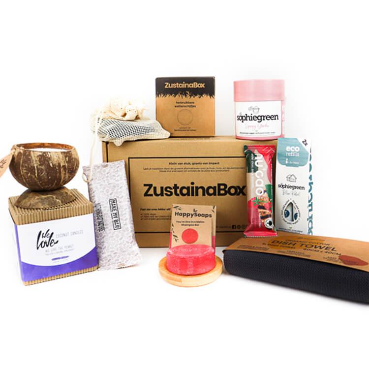 duurzame producten ontdekken Joshua's Premium Box