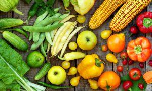 regenboog gezonde voeding
