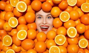 sinaasappelen huid gezond eten