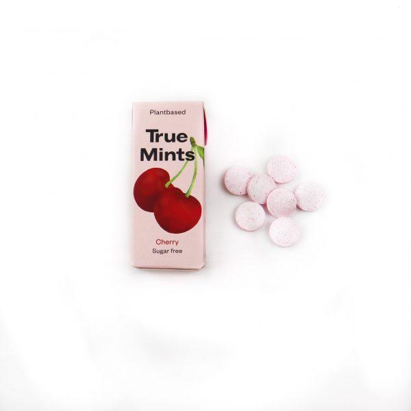 Cherry mints van True gum