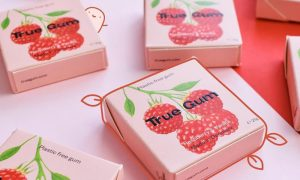 True Gum raspberry