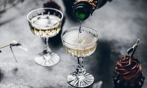 duurzaam Oud & Nieuw champagne
