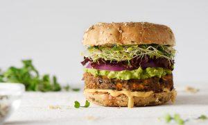 plantaardige burger