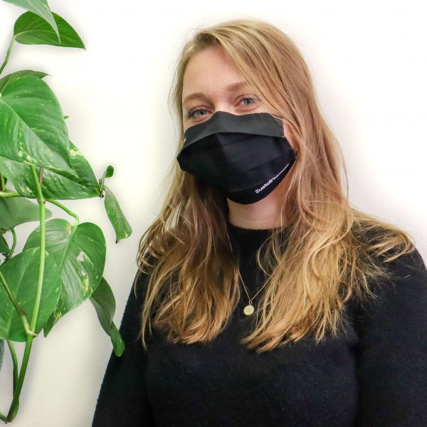 Bio katoenen mondmasker van Retulp