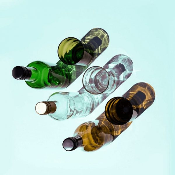 Rebottled upcycling flessen