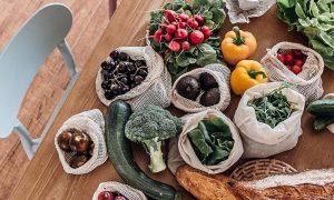 duurzame producten - eco groente- en fruitzakjes Dille & Kamille