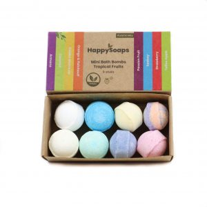 Fruitige bath bombs van HappySoaps