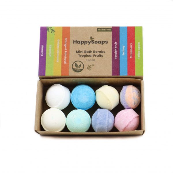 Fruitige bath bombs van HappySoaps