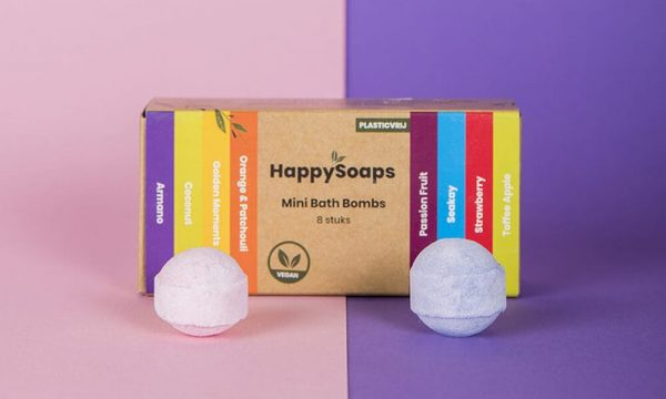 natuurlijke bath bombs HappySoaps