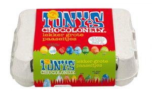 duurzame paaseitjes Tony's Chocolonely