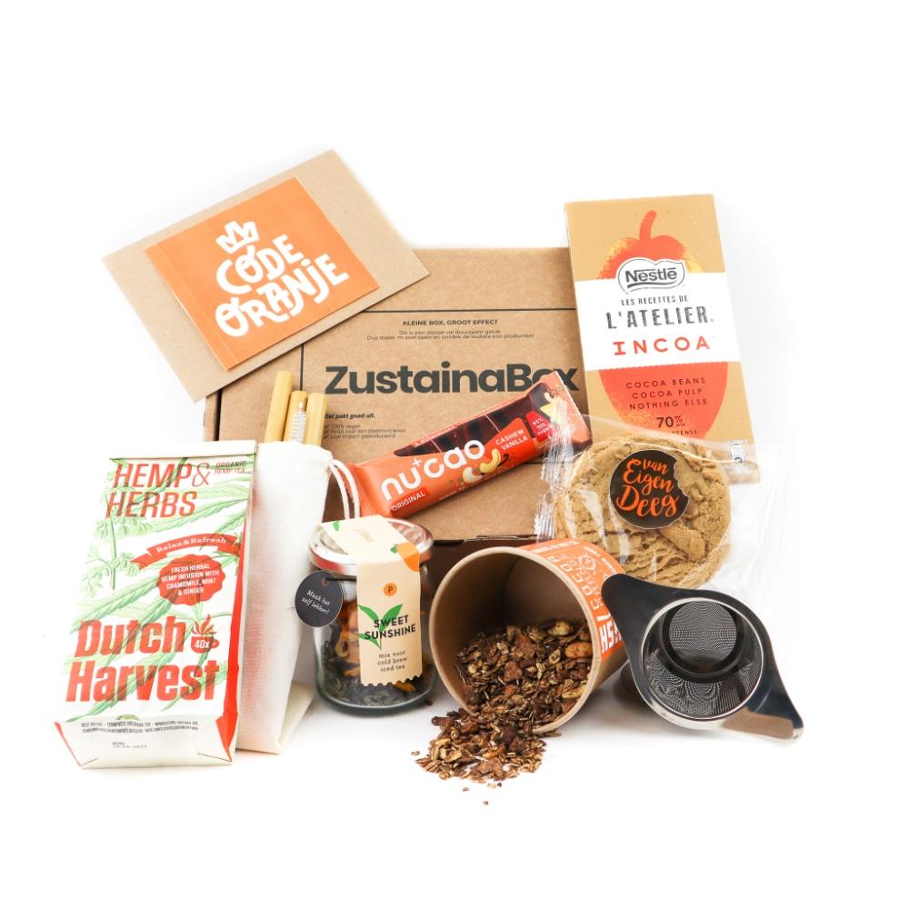 Koningsdag Tea Box duurzaam